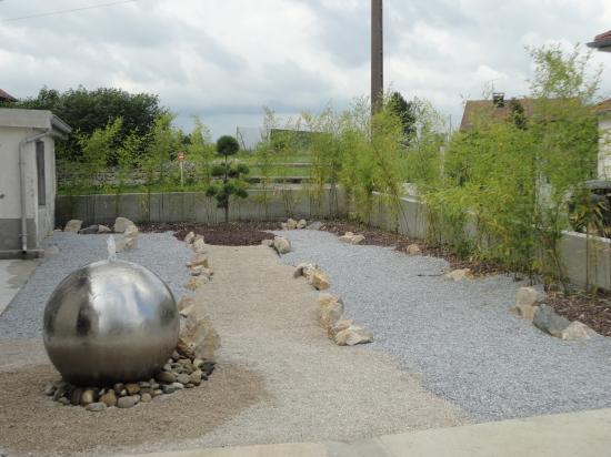 Espace jardin zen