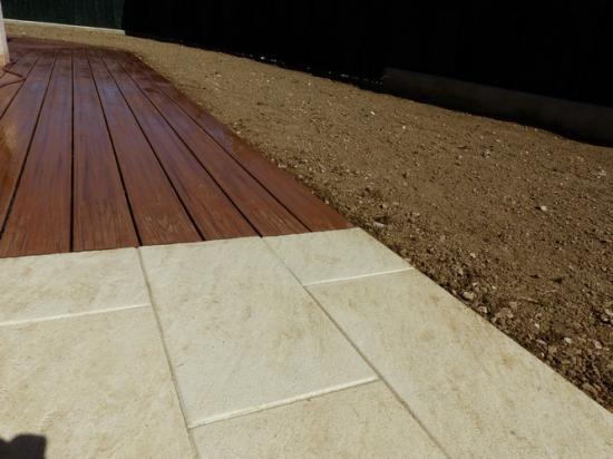 Aménagement terrasse et composite