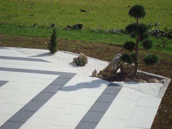 Aménagement paysager terrasse