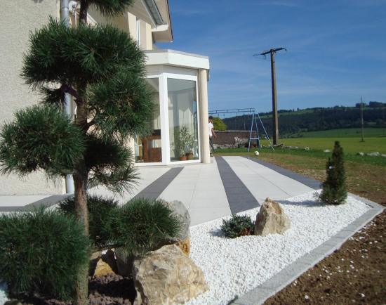 D co bordure terrasse for Bordure de terrasse en galet